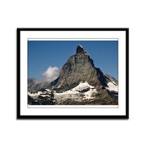 The Matterhorn Framed Panel Print