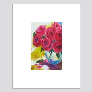 IMPRESSIONIST ROSES Small Poster