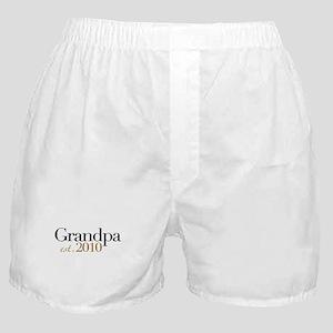 New Grandpa 2010 Boxer Shorts