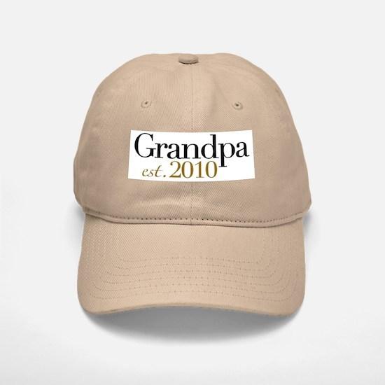 New Grandpa 2010 Baseball Baseball Cap