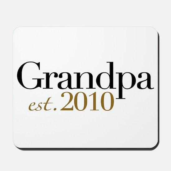 New Grandpa 2010 Mousepad