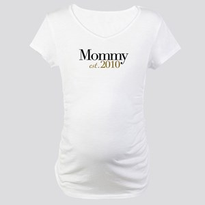 New Mommy 2010 Maternity T-Shirt