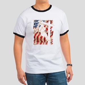 Lineman Flag Tshirts T-Shirt