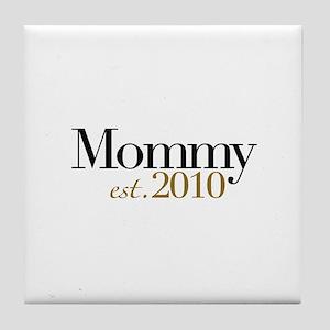 New Mommy 2010 Tile Coaster