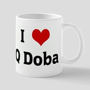 I Love Q Doba Mug