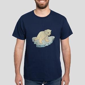 Polar Bear Iceberg Dark T-Shirt