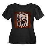 The Goldblacks CD design - Tom Pogson Plus Size T-