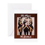 The Goldblacks CD design - Tom Pogson Greeting Car