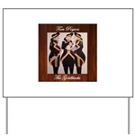The Goldblacks CD design - Tom Pogson Yard Sign