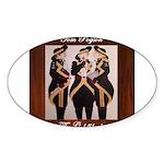 The Goldblacks CD design - Tom Pogson Sticker