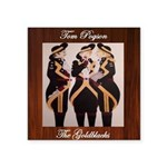 The Goldblacks CD design - Tom Pogson Sticker