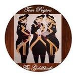 The Goldblacks CD design - Tom Pogson Round Car Ma