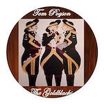 The Goldblacks CD design - Tom Pogson Round Car Ma