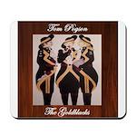 The Goldblacks CD design - Tom Pogson Mousepad