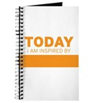 Today I am Inspired by...Journal