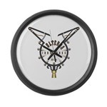Volterra Ironworks Large Wall Clock