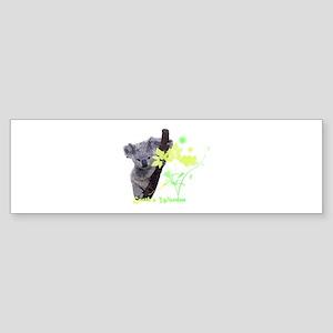 Earth's Warden Bumper Sticker