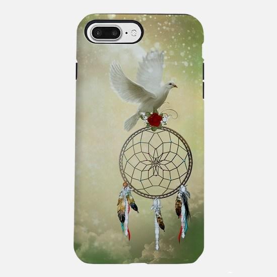 Dove Dreamcatcher iPhone 7 Plus Tough Case