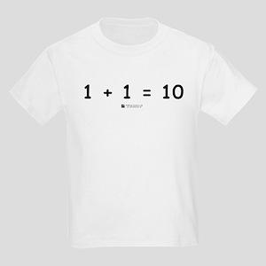 1 + 1 = 10 -  Kids T-Shirt