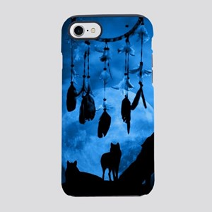 Dreamcatcher Wolves iPhone 7 Tough Case