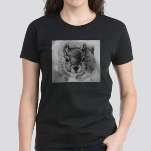 Squrrel Sketch T-Shirt