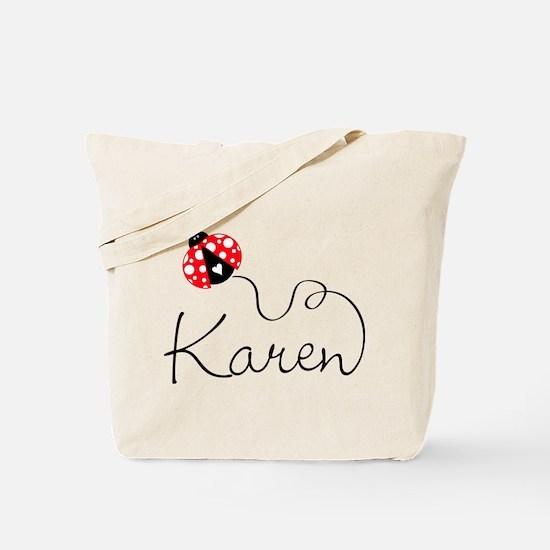 Ladybug Karen Tote Bag