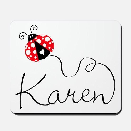 Ladybug Karen Mousepad