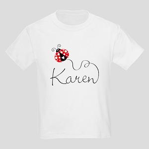 Ladybug Karen Kids Light T-Shirt