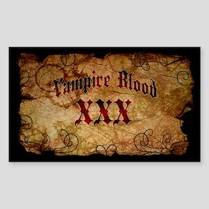Vampire Blood Bottle Label Sticker