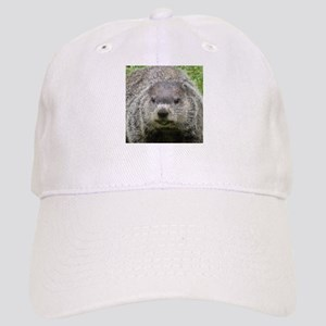 Groundhog Eating Cap
