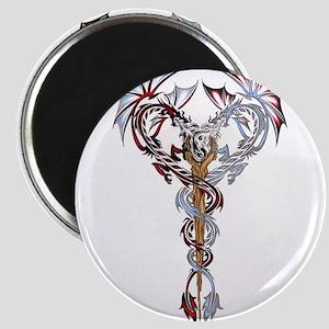 Tribal Dragons Magnet
