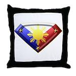 Super Pinoy Throw Pillow