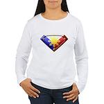 Super Pinoy Women's Long Sleeve T-Shirt