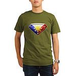 Super Pinoy Organic Men's T-Shirt (dark)