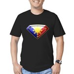 Super Pinoy Men's Fitted T-Shirt (dark)