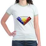 Super Pinoy Jr. Ringer T-Shirt