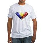 Super Pinoy Fitted T-Shirt