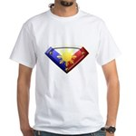 Super Pinoy White T-Shirt