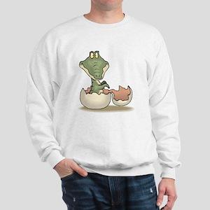 Alligator Baby Hatching Sweatshirt
