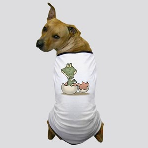 Alligator Baby Hatching Dog T-Shirt