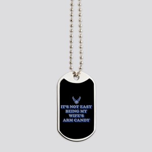 USAF Wife's Arm Candy Dog Tags