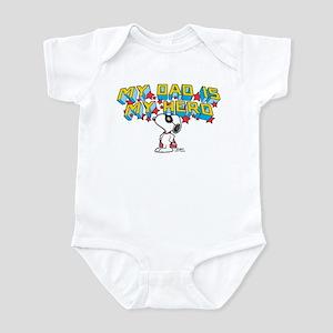 Peanuts Super Dad Body Suit
