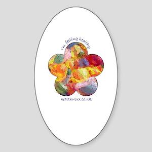 Healthworx Oval Sticker
