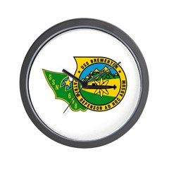 USS Bremerton SSN 698 US Navy Ship Wall Clock