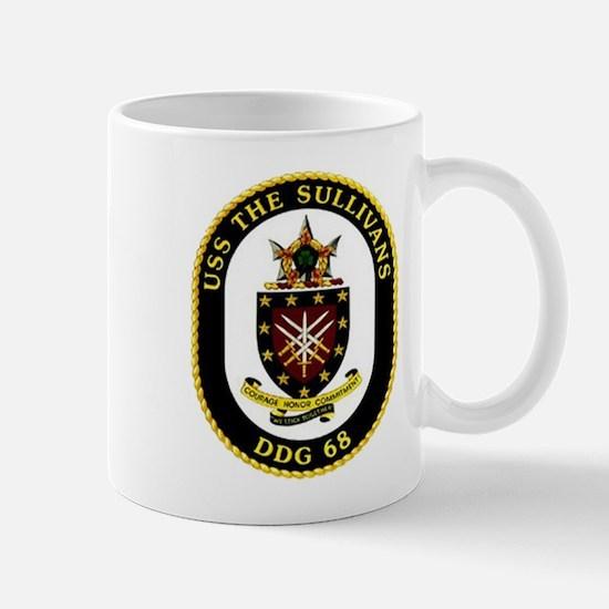 USS The Sullivans DDG 68 US Navy Ship Mug