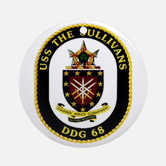 USS The Sullivans DDG 68 US Navy Ship Ornament (Ro