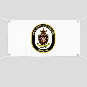 USS The Sullivans DDG 68 US Navy Ship Banner