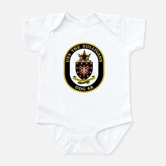 USS The Sullivans DDG 68 US Navy Ship Infant Bodys