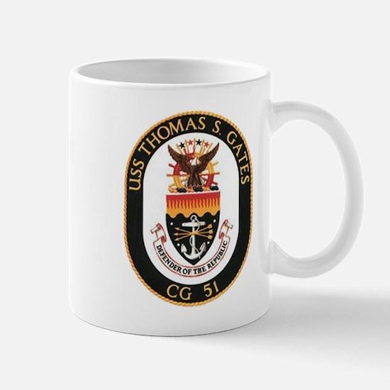 USS Thomas S. Gates CG 51 US Navy Ship Mug