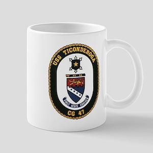 USS Ticonderoga CG 47 USS Navy Ship Mug